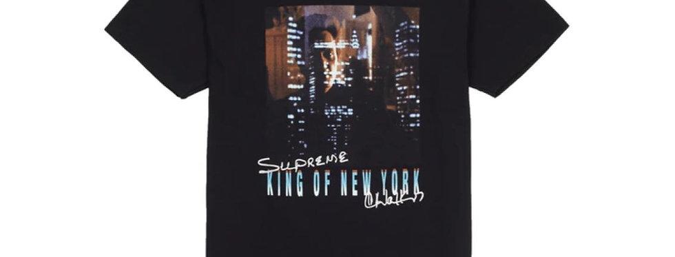 Supreme King of New York Tee Black