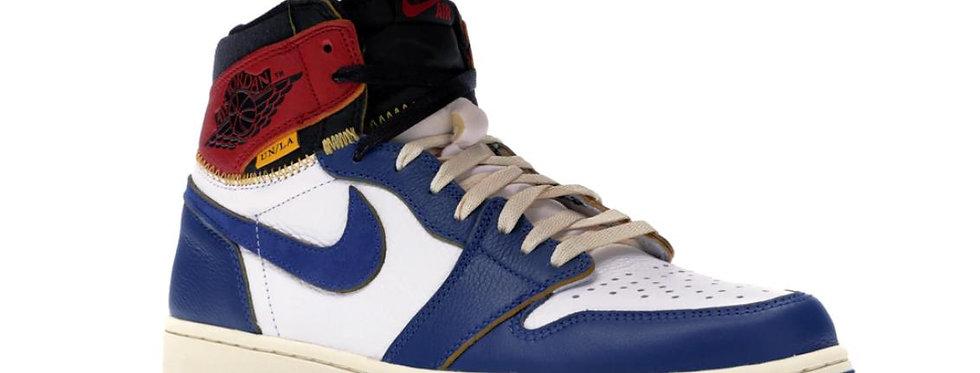 Nike Air Jordan 1 Retro High Union Los Angeles Blue Toe
