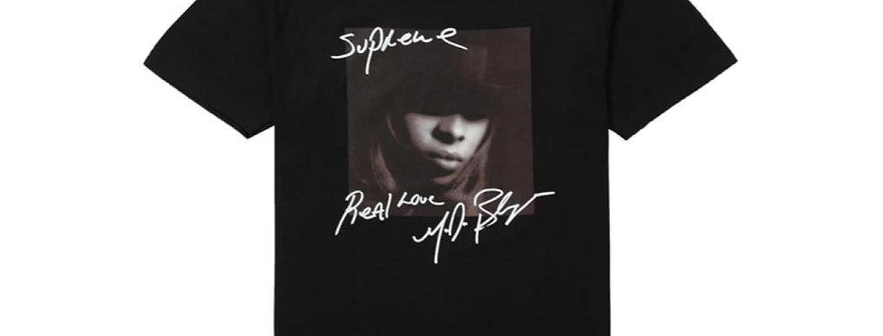 Supreme Mary J. Blige Tee Black