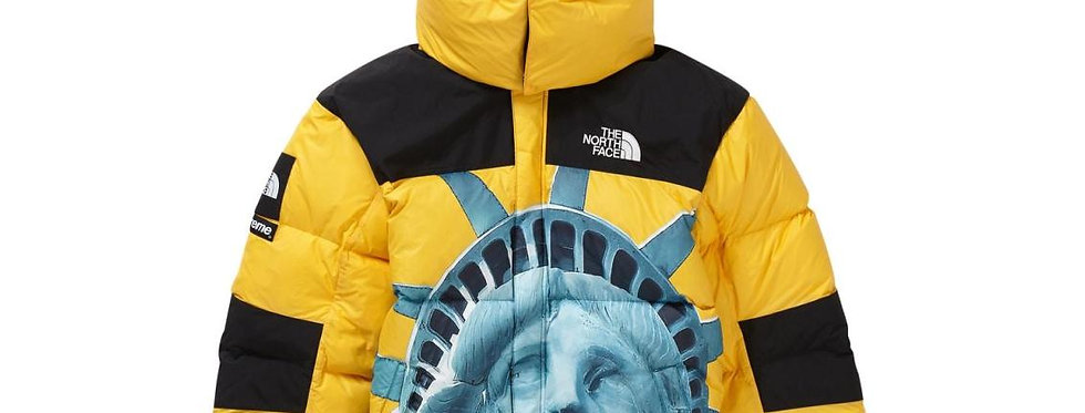 Supreme The North Face Statue of Liberty Baltoro Jacket Yellow