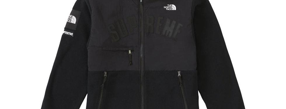 Supreme The North Face Arc Logo Denali Fleece Jacket Black