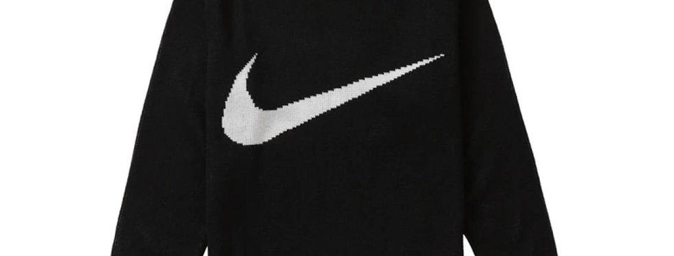Supreme Nike Swoosh Sweater Black