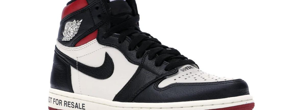 "Nike Air Jordan 1 Retro High ""Not for Resale"" Varsity Red"