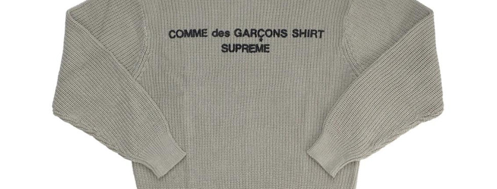 Supreme Comme des Garcons SHIRT Sweater Tan