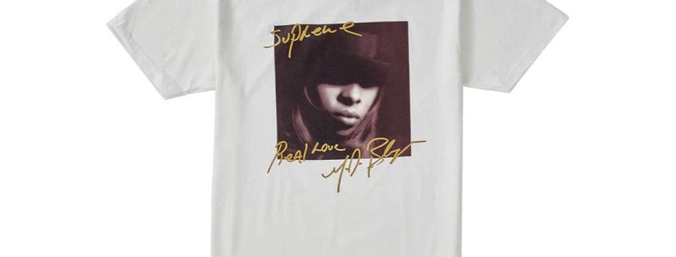 Supreme Mary J. Blige Tee White