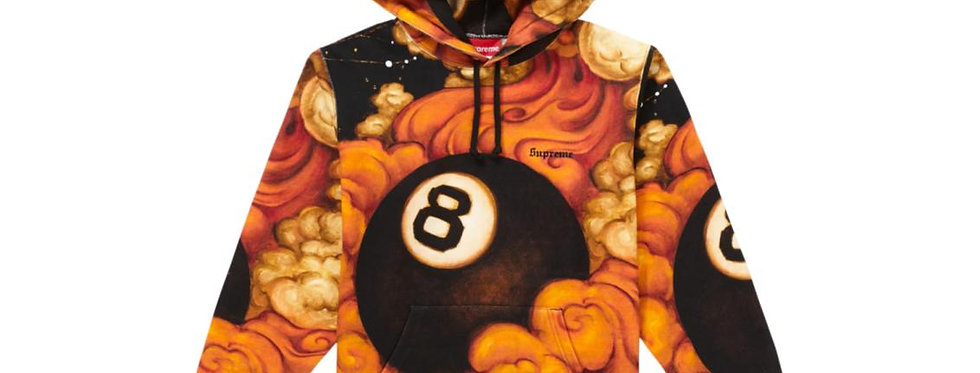 Supreme Martin Wong 8 Ball Hooded Sweatshirt Multi