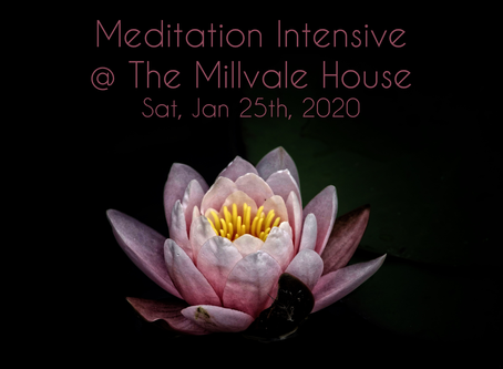 Meditation Intensive: a one-day retreat with Michael