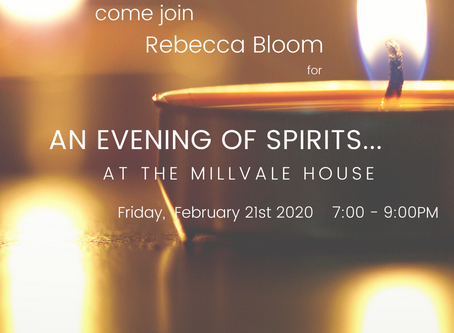 Winter Warmth: An Evening of Spirits with Rebecca Bloom