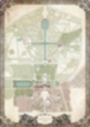 Carte de Versailles - L'Espion de la Reine - Tiphs