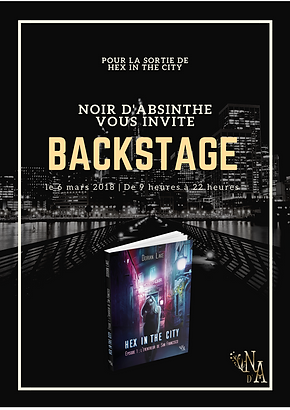 Tour Backstage - Hex in the City - Le Programme !