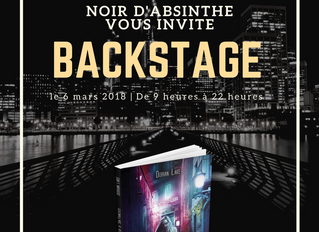 Tour Backstage - Hex in the City - Le programme!