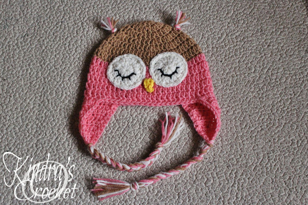 Owl Hats Kindras Crochet