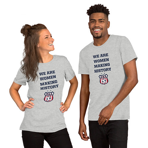 Women's History Month - Short-Sleeve Unisex T-Shirt