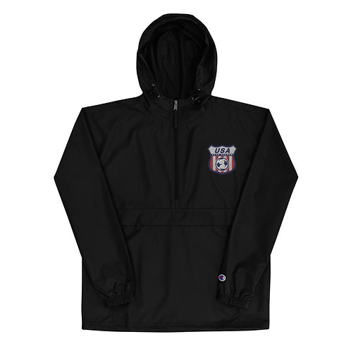 Team Logo Embroidered Champion Packable Jacket