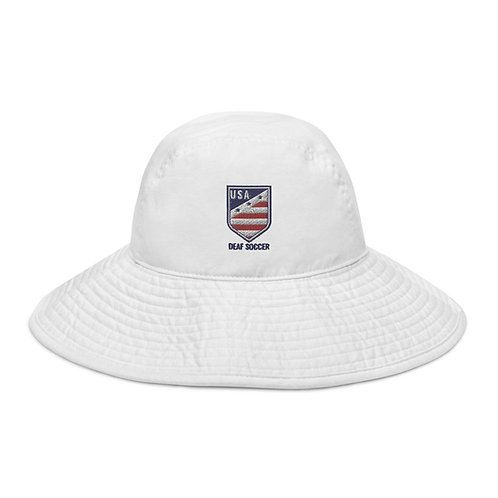 New Crest - Wide brim bucket hat