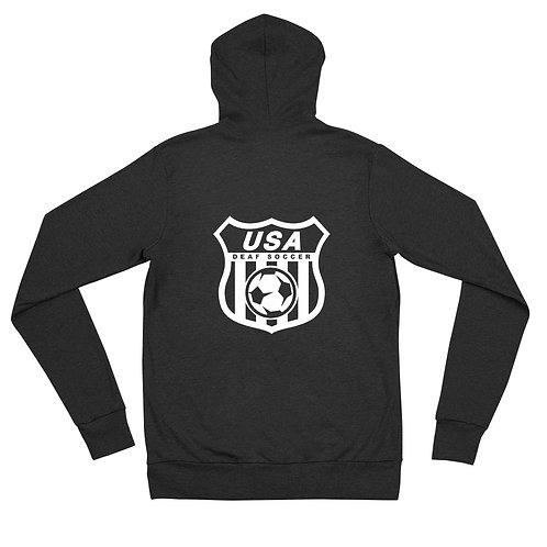 Team Logo - Unisex zip hoodie