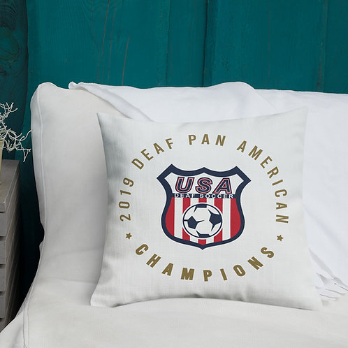 Pan Am Championship Pillow - Premium Pillow