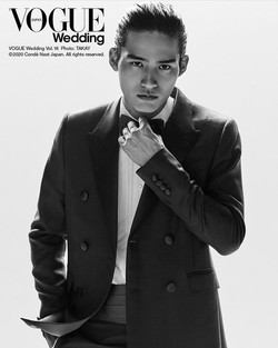 VOGUE wedding 岡田健史