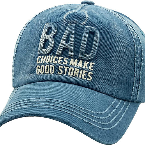 """Bad Choices""Vintage Dad Hat"