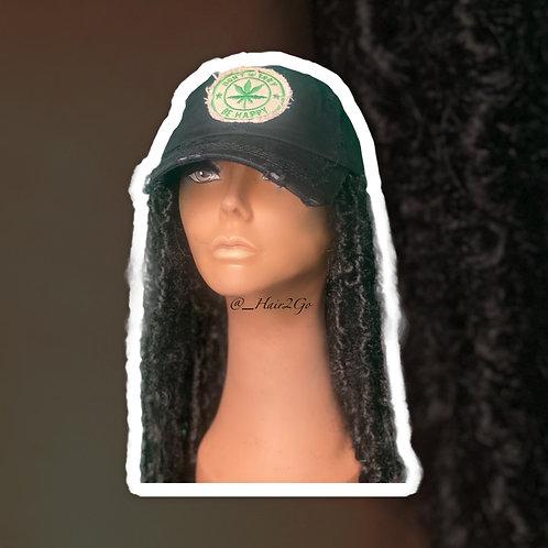 Boho Distressed Hair Hat
