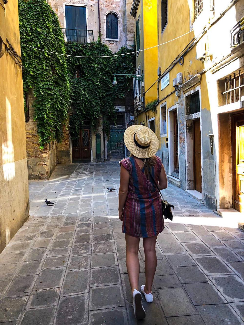 Nicole in Italy