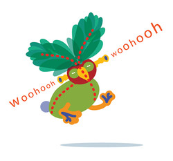 wooohohhh Card