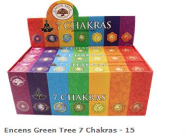 Encens Green Tree 7Chakras