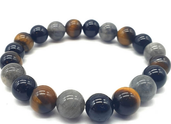 Bracelet de protection en perles de 10 mm
