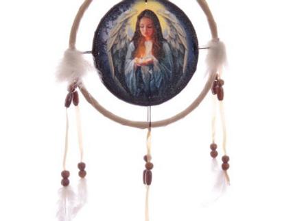 Attrape rêve 16 cm Ange de Lisa Parker