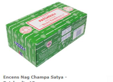 Encens Nag Champa Satya  Patchouli