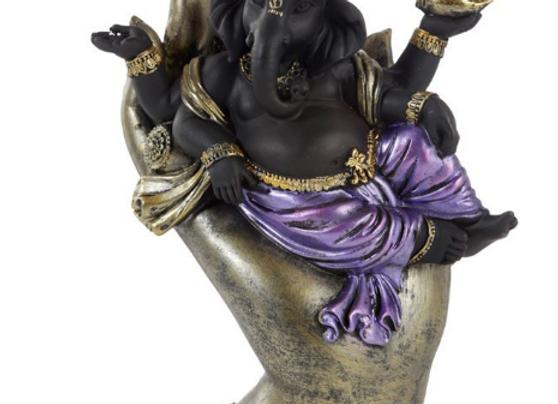 Ganesh allongé dans main