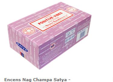 Encens Nag Champa Satya Positives Vibes