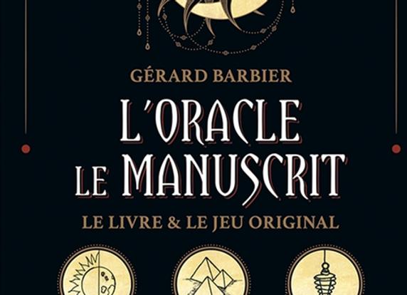 Loracle le Manuscrit livre et jeu