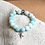 Thumbnail: Bracelet Amazonite perles rondes 10 mm Breloque Yoga Arbre