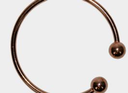 Bracelet cuivre boule avec aimant 3 mm