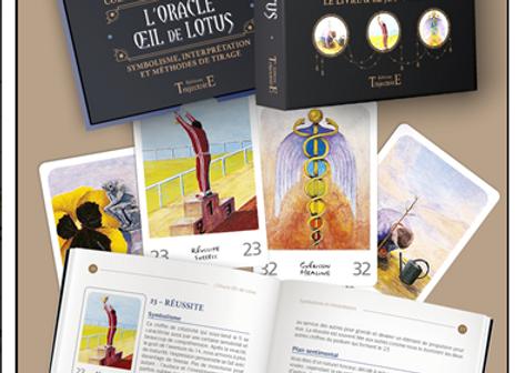L'Oracle de l'oeil de lotus livre et jeu