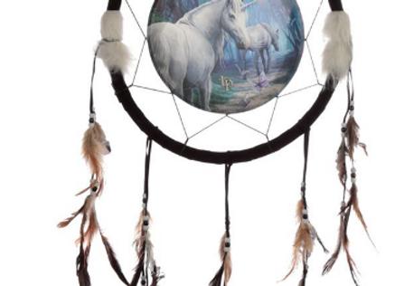 Attrape rêve 33 cm le retour de la Licorne de Lisa Parcker