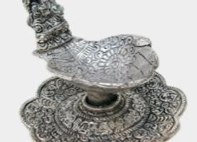 Brûle encens alu Fontaine Mains Ganesh
