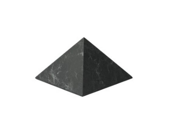 Pyramide en Shungite 8 X 8 CM