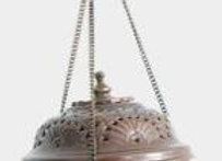 Encensoir suspendu en cuivre