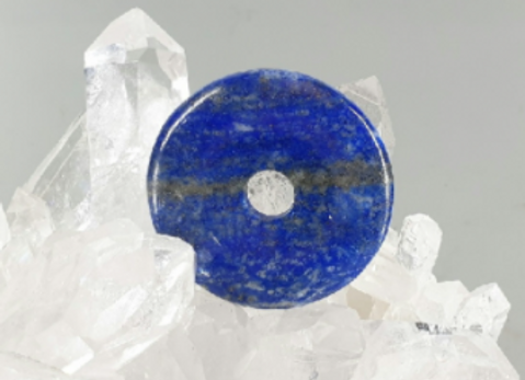 Pi chinois en lapis  lazuli