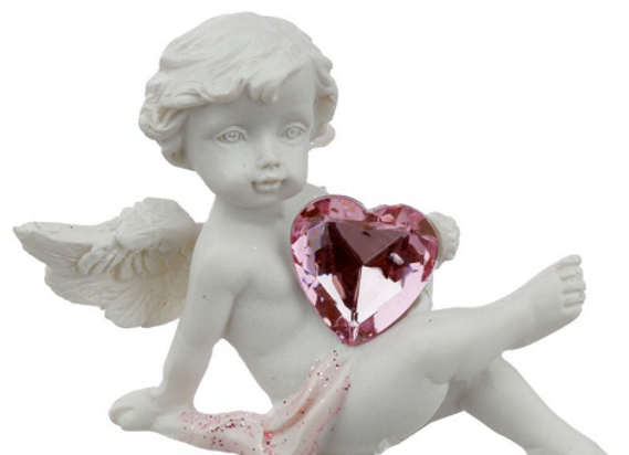 Chérubin avec son coeur