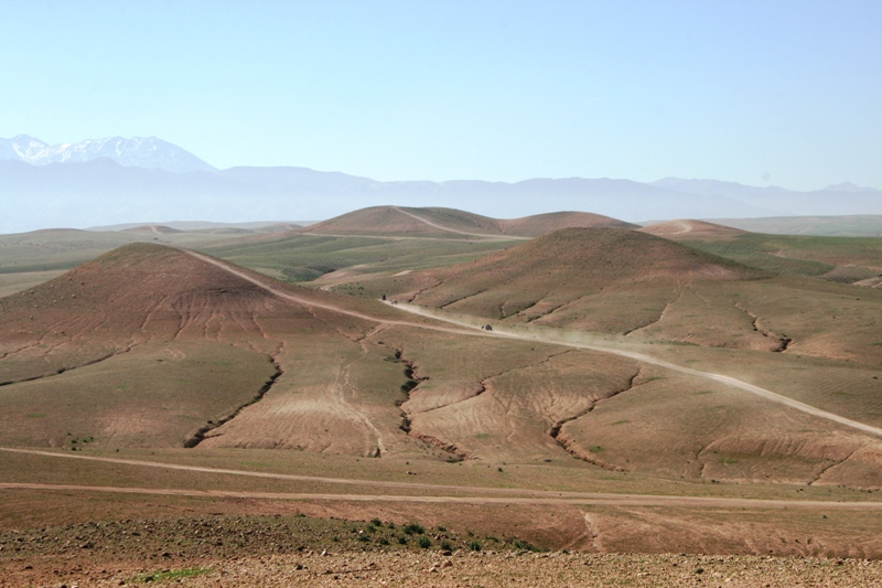 On the way to the High Atlas
