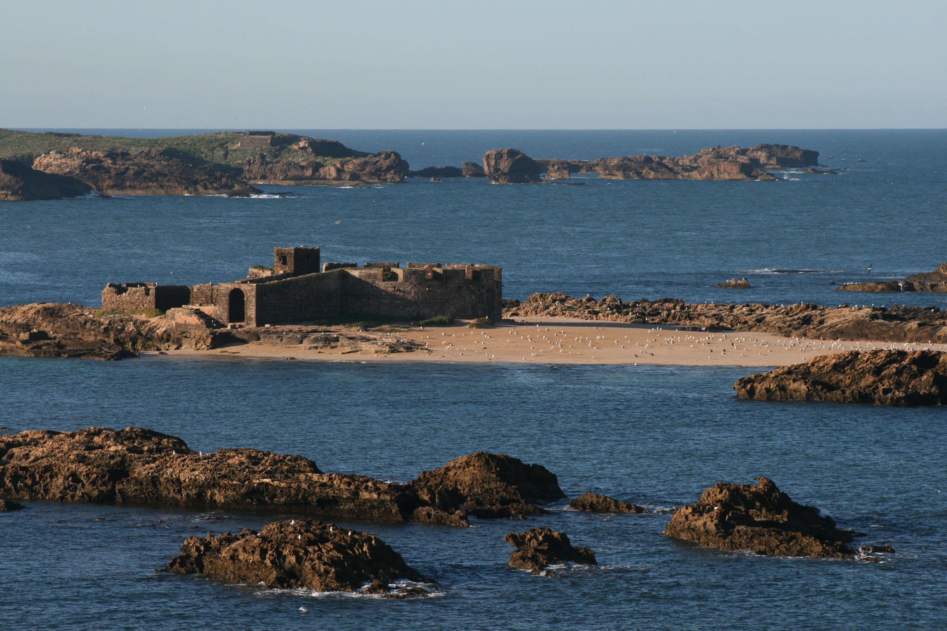 Island near Essaouira