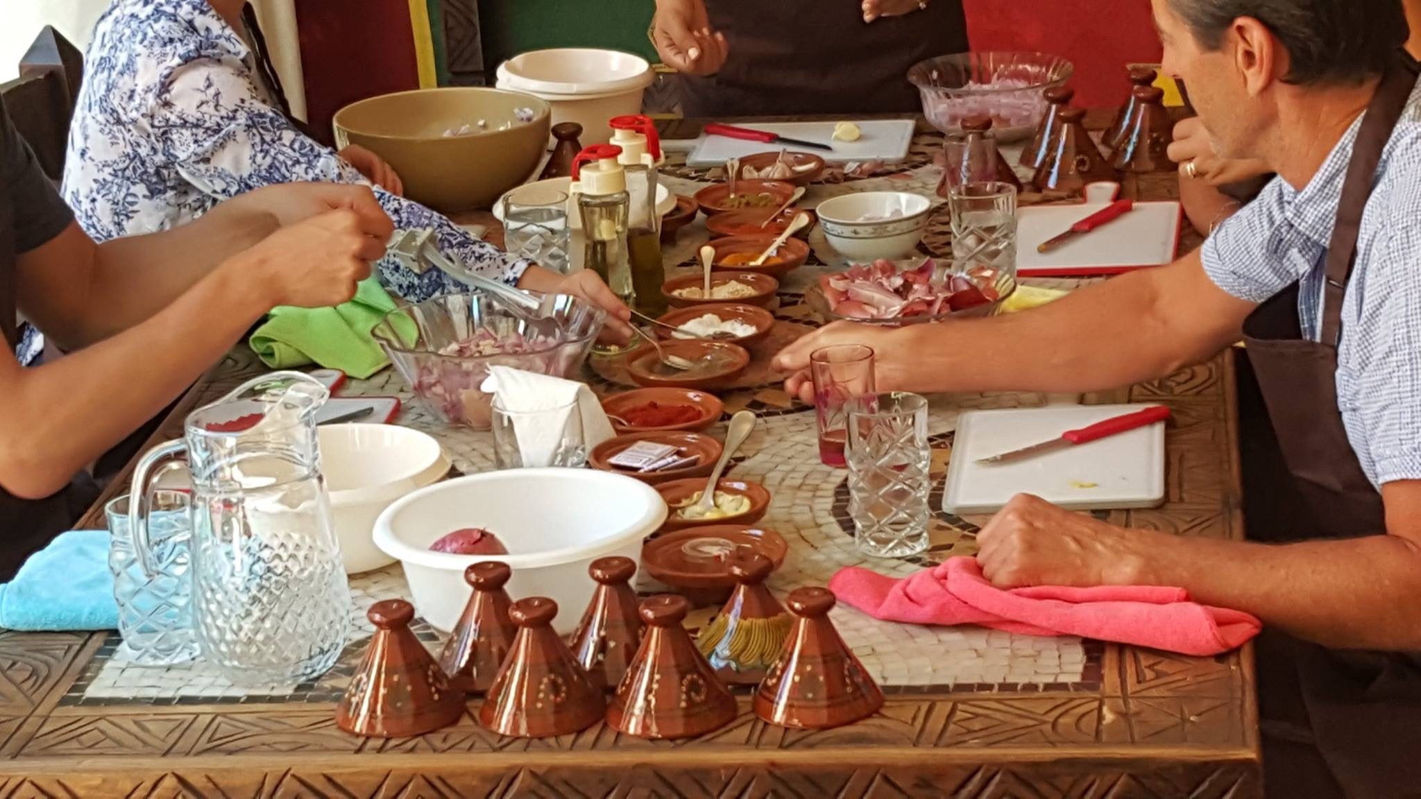 Marrakech Cooking School 5