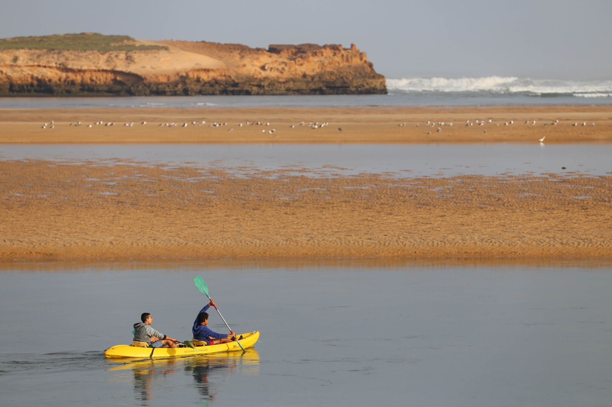 Kayaking, Oualidia