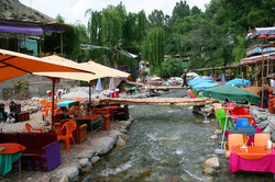 Shops and stall, Ourika Vally