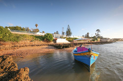 Boat in Oualidia