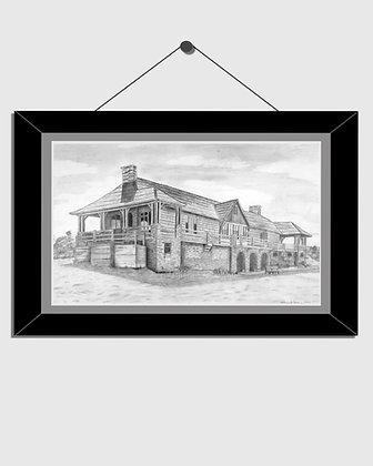 Ludington State Park Beach House Print