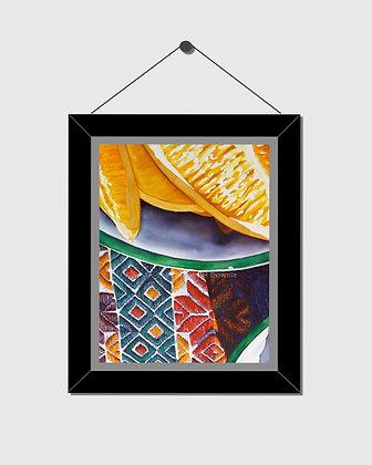 Les Oranges Watercolor Print